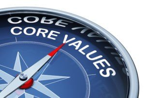 Core Values – Faith