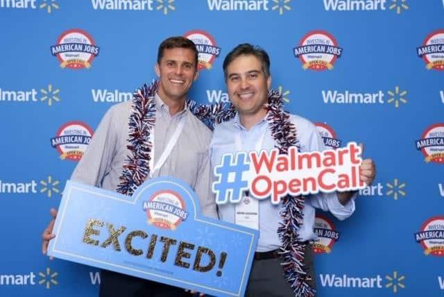 CEO Burt with Walmart opencall